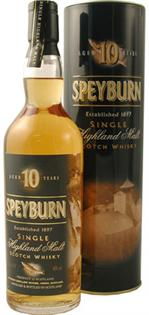 Speyburn Scotch Single Malt 10 Year 750ml